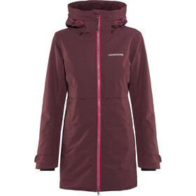 Didriksons 1913 Helle Parka Naiset, wine red